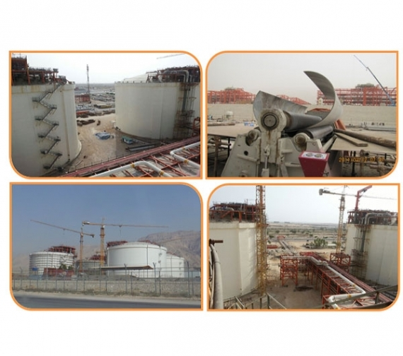 Fabrication & Installation of Piping, Support, Steel Structure and LPG Tank Pump Column – South Pars Phases 15 & 16